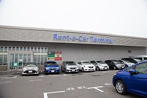 There is the sales office in Rental Car Terminal next to Aomori Airport.