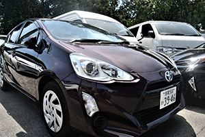 We offer a wide range of models, from small cars to wagons by Toyota.