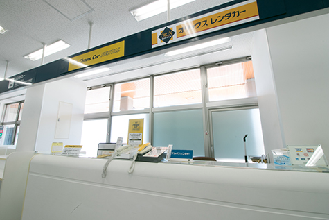 Toyama ORIX Rent a Car Toyama Airport North Reception Counter
