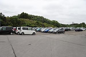 초보 운전자도 안심하고 이용하실 수 있는 넓직한 공간.