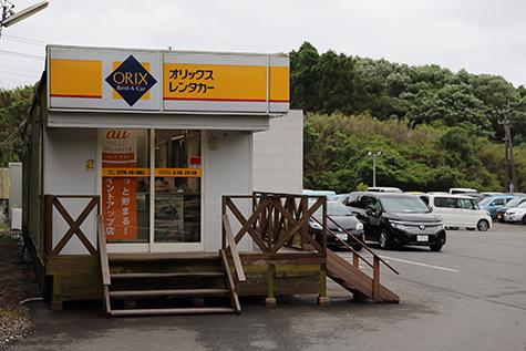 千葉のオリックスレンタカーの成田空港店