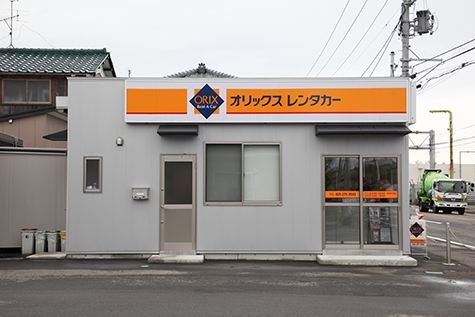 新潟のオリックスレンタカーの新潟空港店