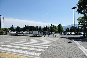 마츠모토공항 내의 주차장에서 출발, 반납하실 수 있습니다.