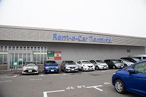 아오모리공항에 인접해 있는 렌트카 터미널 내에 영업소가 있습니다.