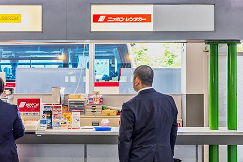 福島のニッポンレンタカーの福島空港営業所