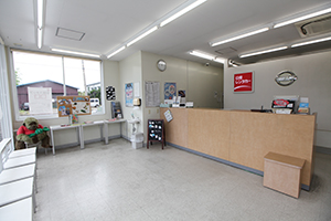 We welcome customers in a clean shop.