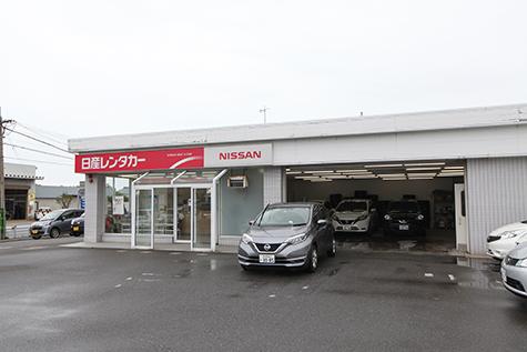 新潟の日産レンタカーの新潟空港店