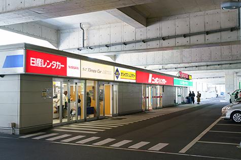 愛知の日産レンタカーの中部国際空港店