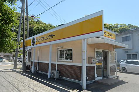 愛媛のオリックスレンタカーの松山空港坊っちゃん店