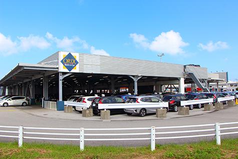 沖縄のオリックスレンタカーの那覇空港店