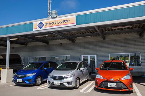 沖縄のオリックスレンタカーの新石垣空港ゆうな店