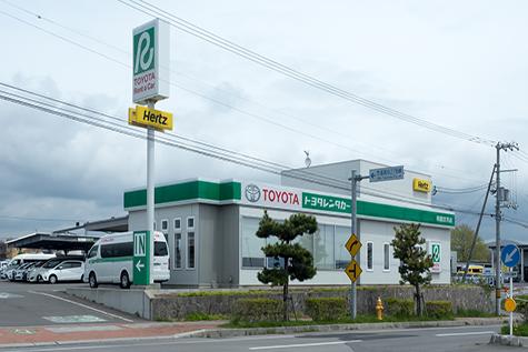 北海道のトヨタレンタカーの函館空港店