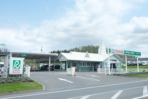 홋카이도 토요타렌트카 아사히카와공항앞점