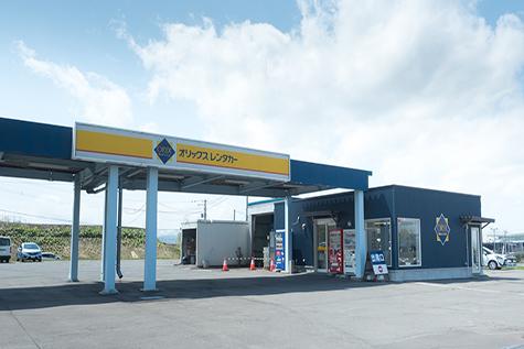 北海道のオリックスレンタカーの旭川空港店
