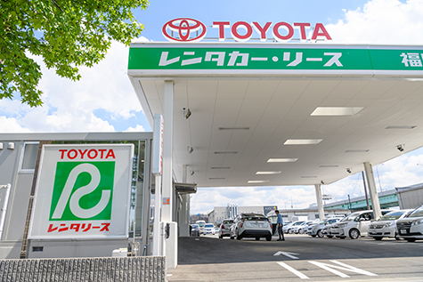 福岡のトヨタレンタカーの福岡空港国際線店
