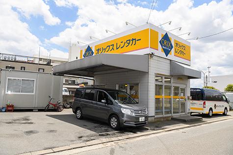 福岡のオリックスレンタカーの福岡空港ターミナル南店