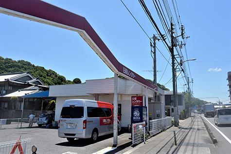 愛媛の日産レンタカーの松山空港