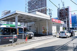 It takes about 10 minutes from Fukuoka Airport.
