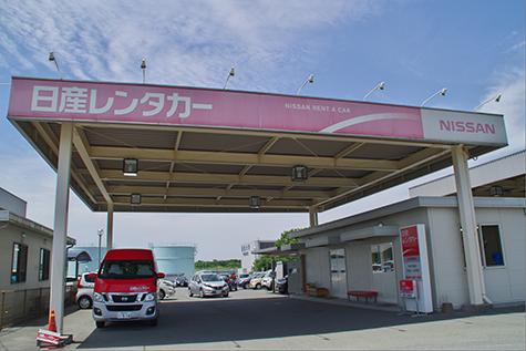 熊本の日産レンタカーの熊本空港