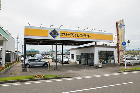 宮崎のオリックスレンタカーの宮崎空港フェニックス店
