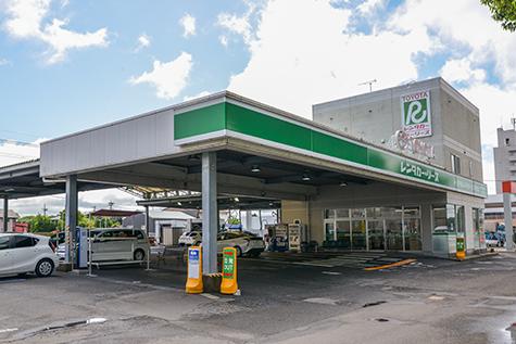 鹿児島のトヨタレンタカーの鹿児島空港店