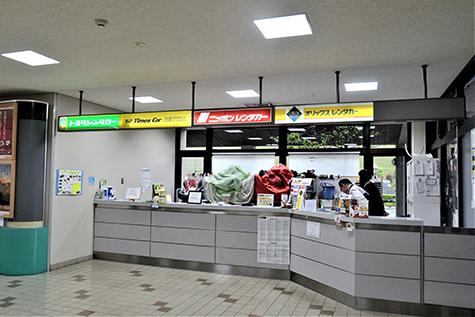 島根のニッポンレンタカーの石見空港営業所