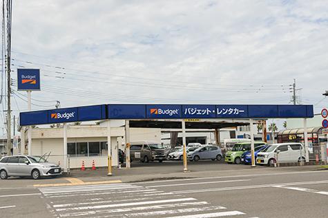 宮崎のバジェットレンタカーの宮崎空港店