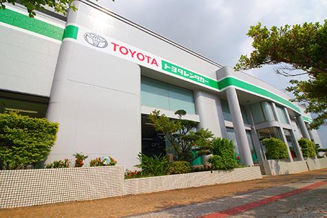 沖縄のトヨタレンタカーの那覇空港店