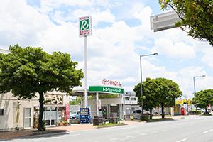 후쿠오카공항에서 도보 10분 정도의 거리에 있습니다.