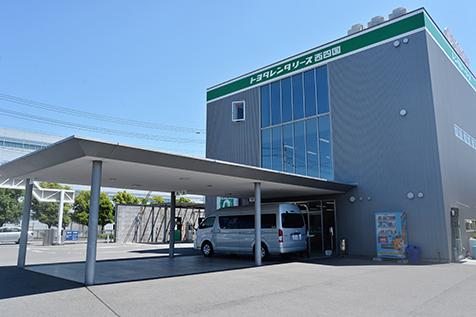 愛媛のトヨタレンタカーの松山空港店