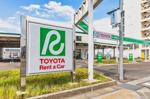 宮城のトヨタレンタカーの仙台空港店