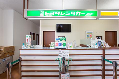 山形のトヨタレンタカーの庄内空港店