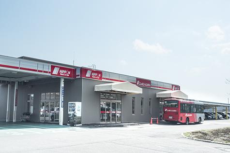 北海道のニッポンレンタカーの千歳空港営業所(特別営業時間)