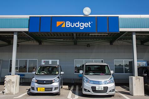 沖縄のバジェットレンタカーの石垣空港店
