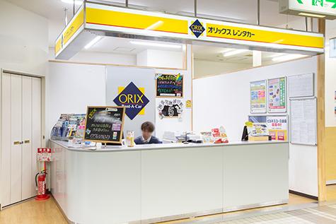 青森のオリックスレンタカーの三沢空港店