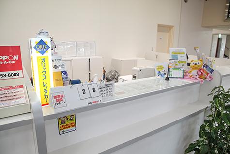 山形のオリックスレンタカーの山形空港店