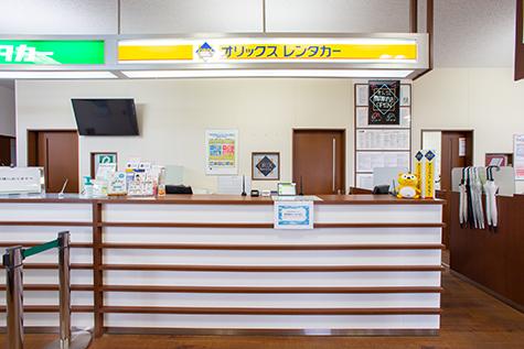 山形のオリックスレンタカーの庄内空港店