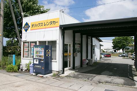 石川のオリックスレンタカーの小松空港西店
